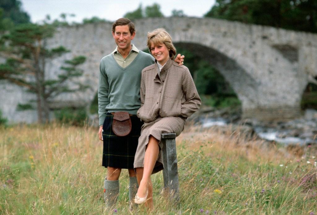 Princesa Diana e Principe Charles em Lua de Mel