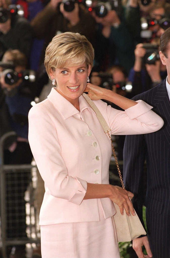 Princesa Diana no Daily Star Gold Awards