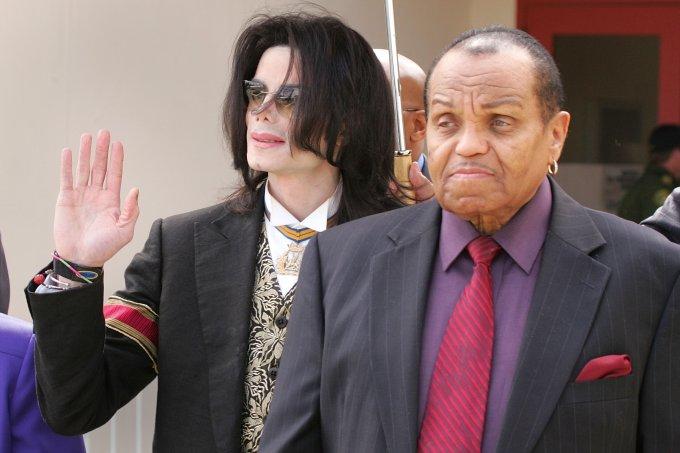 Michael Jackson e Joe Jackson