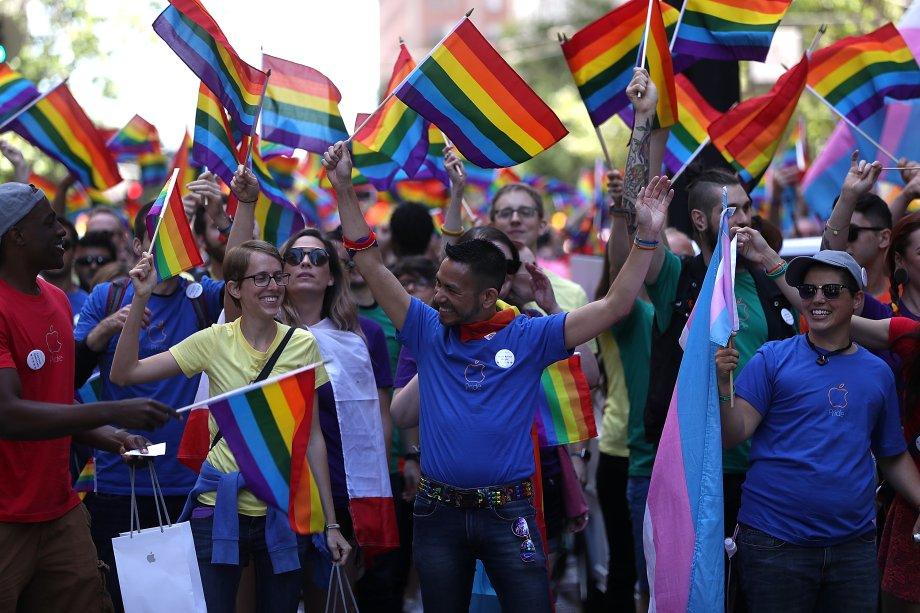 Parada LGBT de São Francisco, em 2016