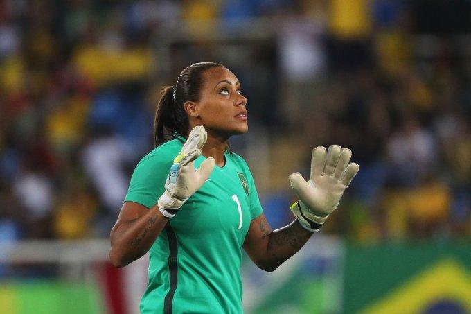 Bárbara – goleira da Seleção Brasileira