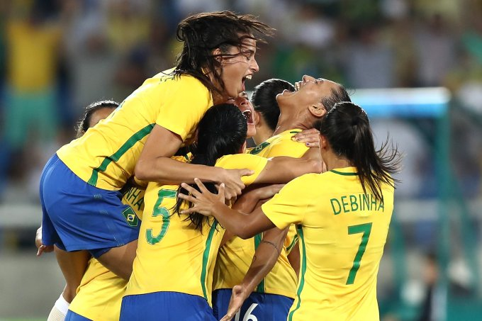 Brazil v Sweden – Women's Football – Olympics: Day 1