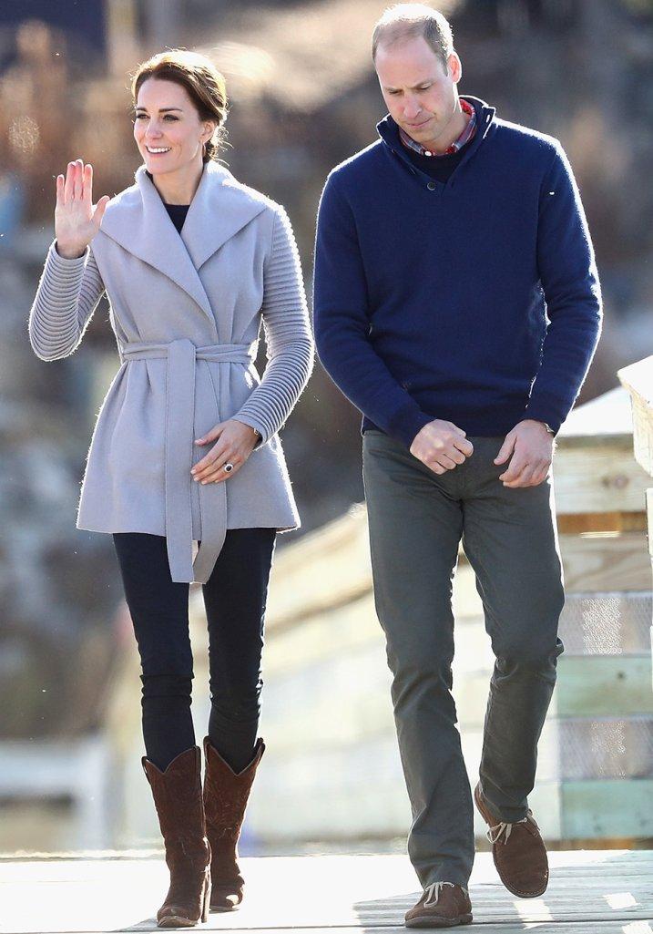 Kate Middleton casaco Sentaler