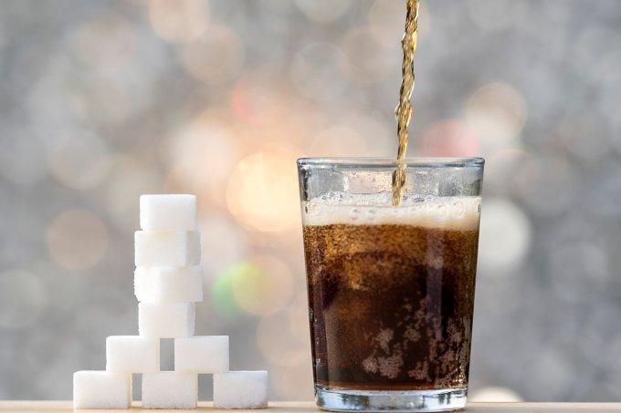 refrigerante açúcar
