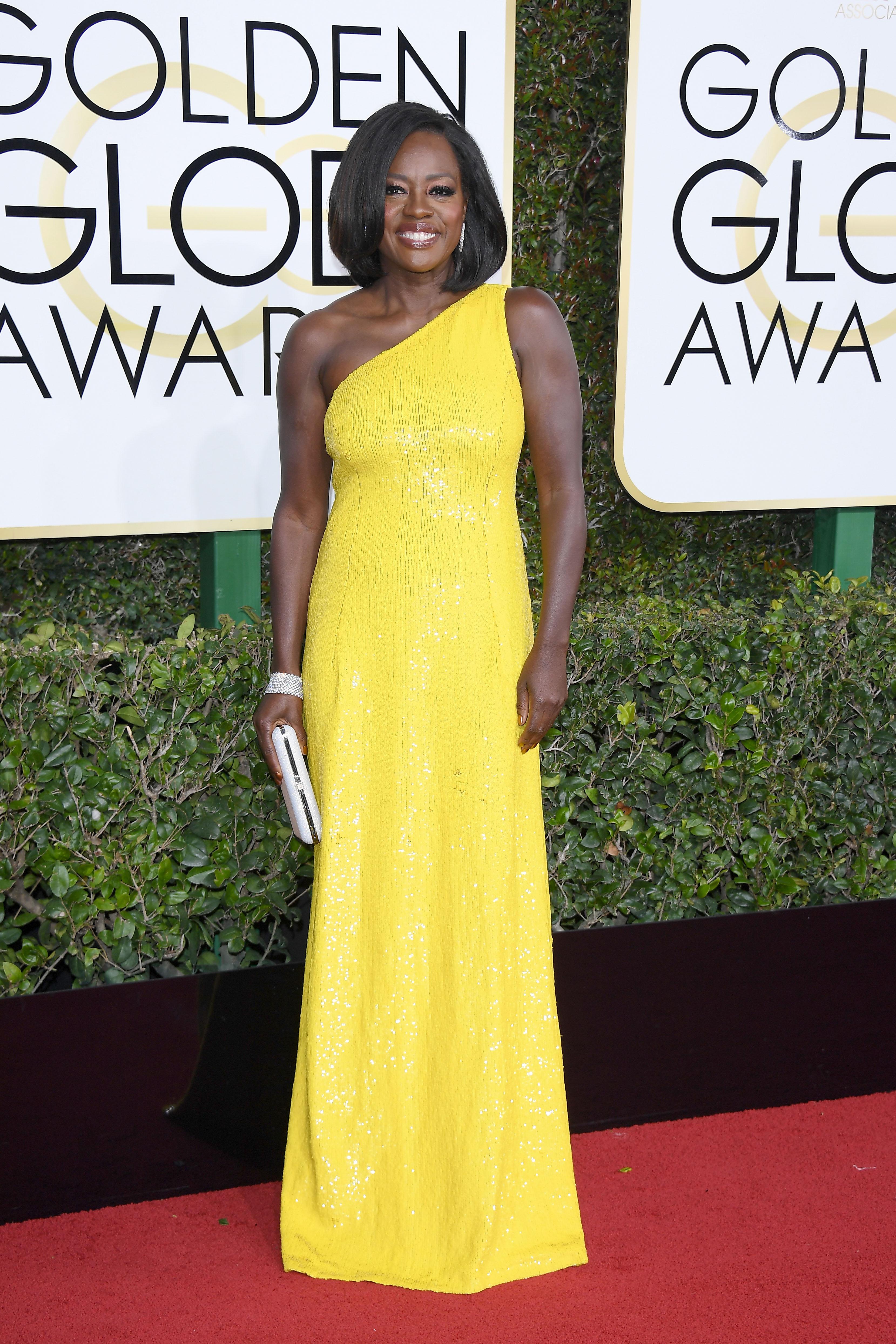 Viola Davis Golden Globes Melhores vestidos