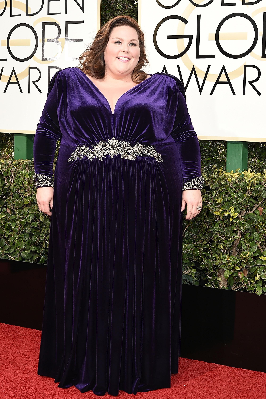 Chrissy Metz Globo de Ouro Melhores Vestidos