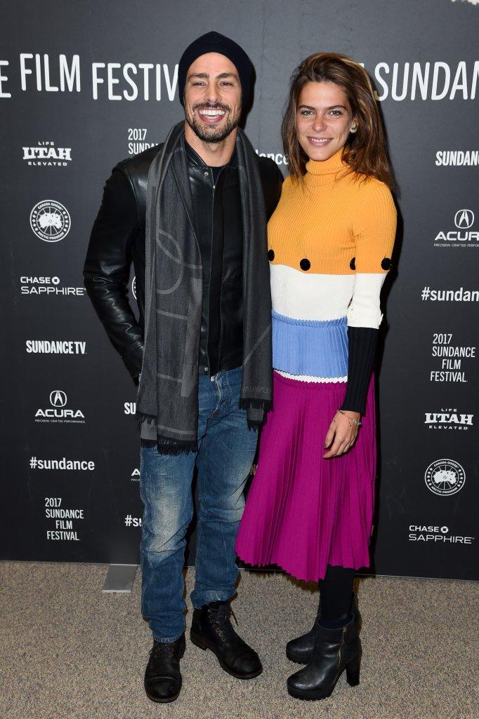 Cauã Reymond e Mariana Goldfarb no Festival Sundance de Cinema