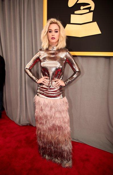 Katy Perry veste Tom Ford