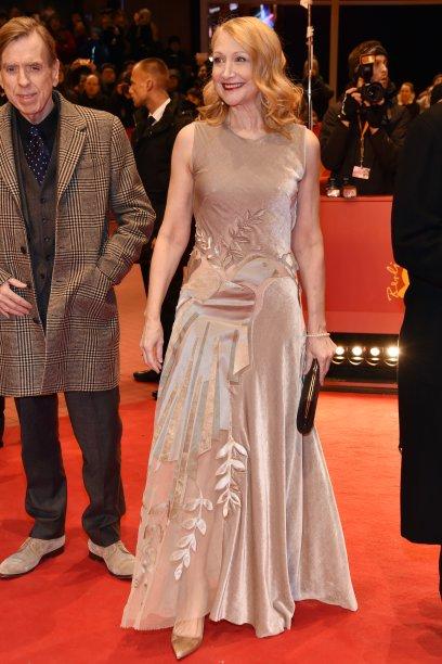 A atriz <b>Patricia Clarkson</b> na première de <i>The Party</i>.