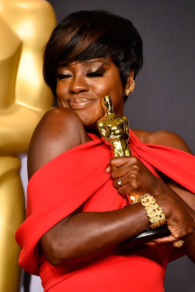 Viola Davis vencedora do Oscar