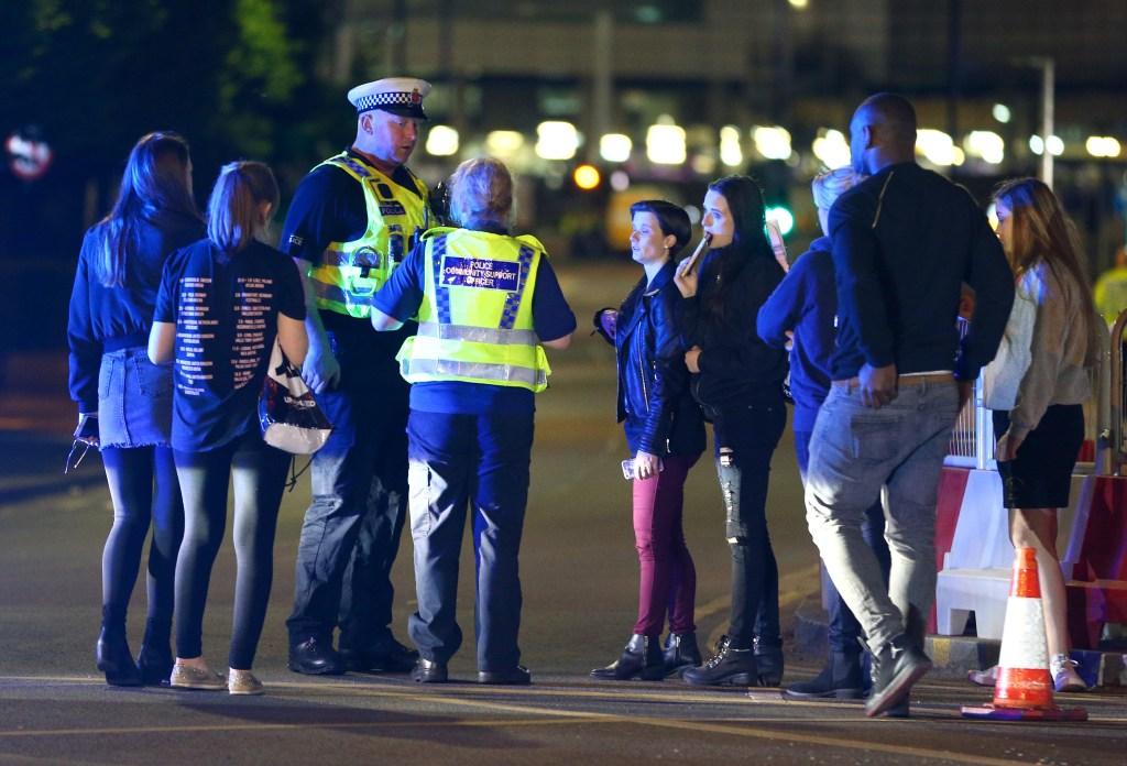 Policia após atentado em Manchester show Ariana Grande