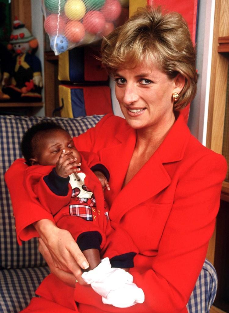 Princesa Diana na London Lighthouse