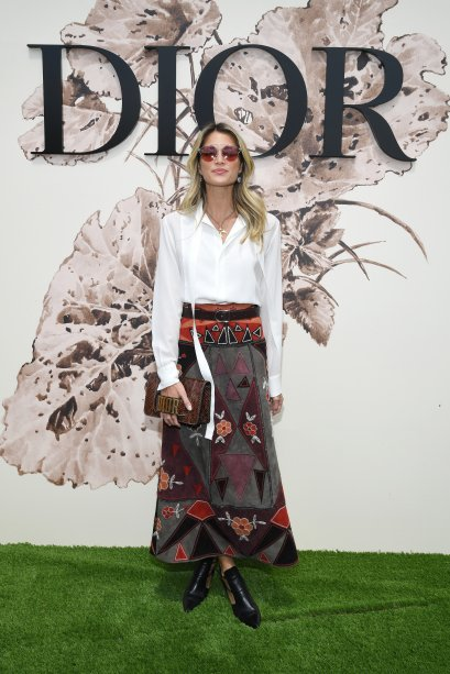 <strong>Helena Bordon </strong>no desfile da <strong>Dior</strong>.