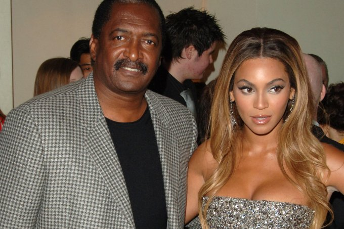 Beyonce e pai Mathew Knowles