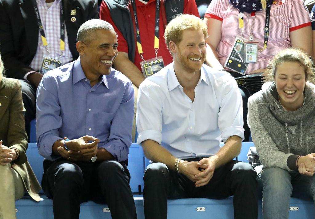Principe Harry e Barack Obama nos Invictus Games Toronto