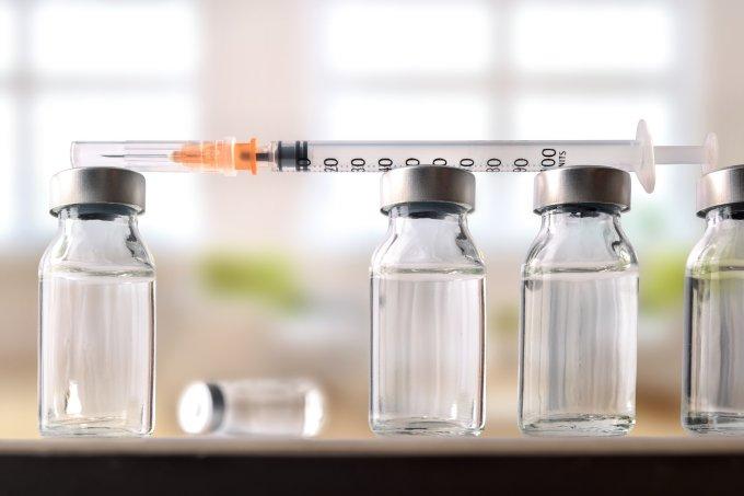 Vacina injeção seringa