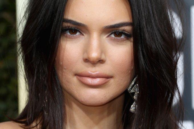 Kendall Jenner no Globo de Ouro 2018