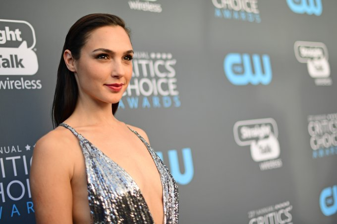 Gal Gadot no Critic's Choice Awards 2018