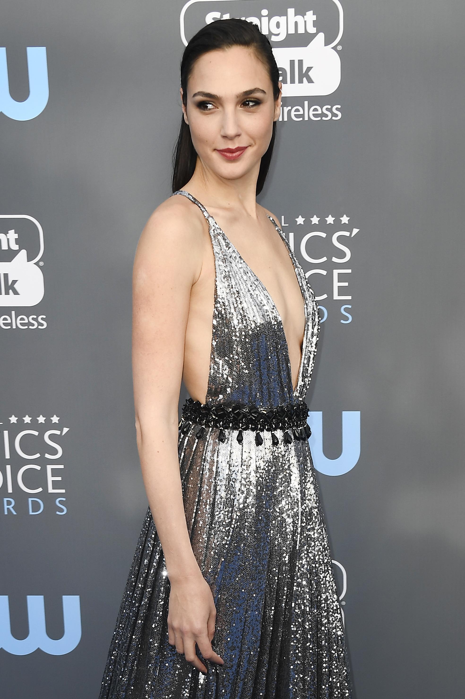 Gal Gadot no Critic's Choice Awards 2018