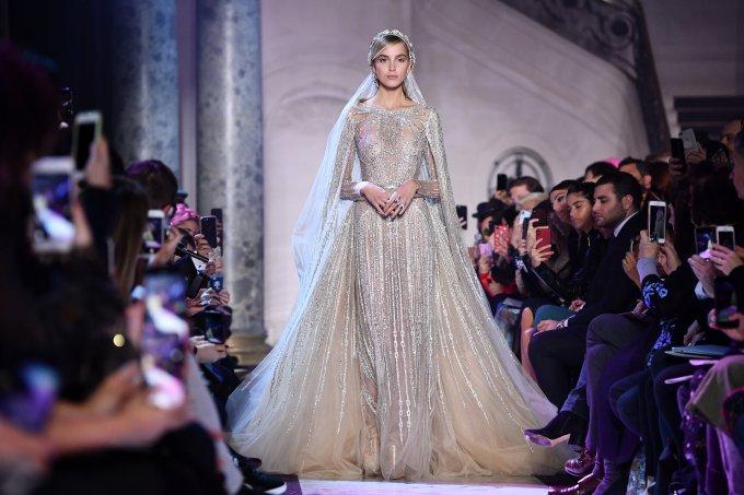 Elie Saab – Paris Fashion Week Alta Costura Primavera Verão 2018