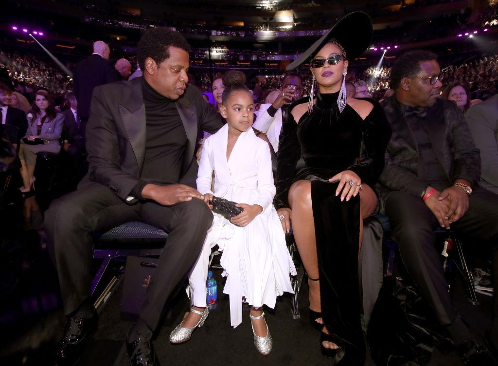 Beyonce, Jay Z , Blue Ivy no GRAMMY Awards 2018