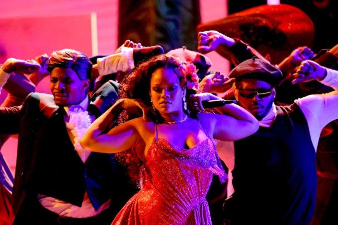 Rihanna no GRAMMY Awards 2018