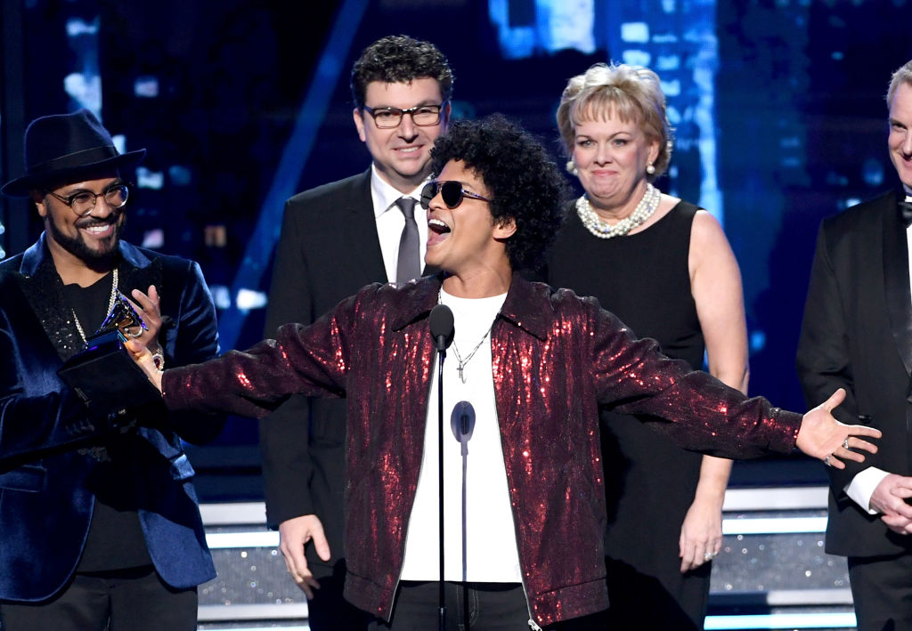 Bruno Mars no GRAMMY Awards 2018