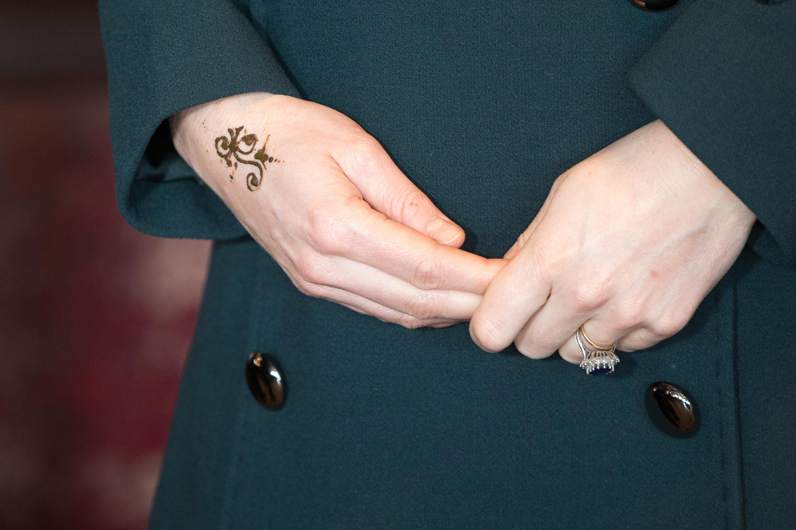 Kate Middleton tatuagem
