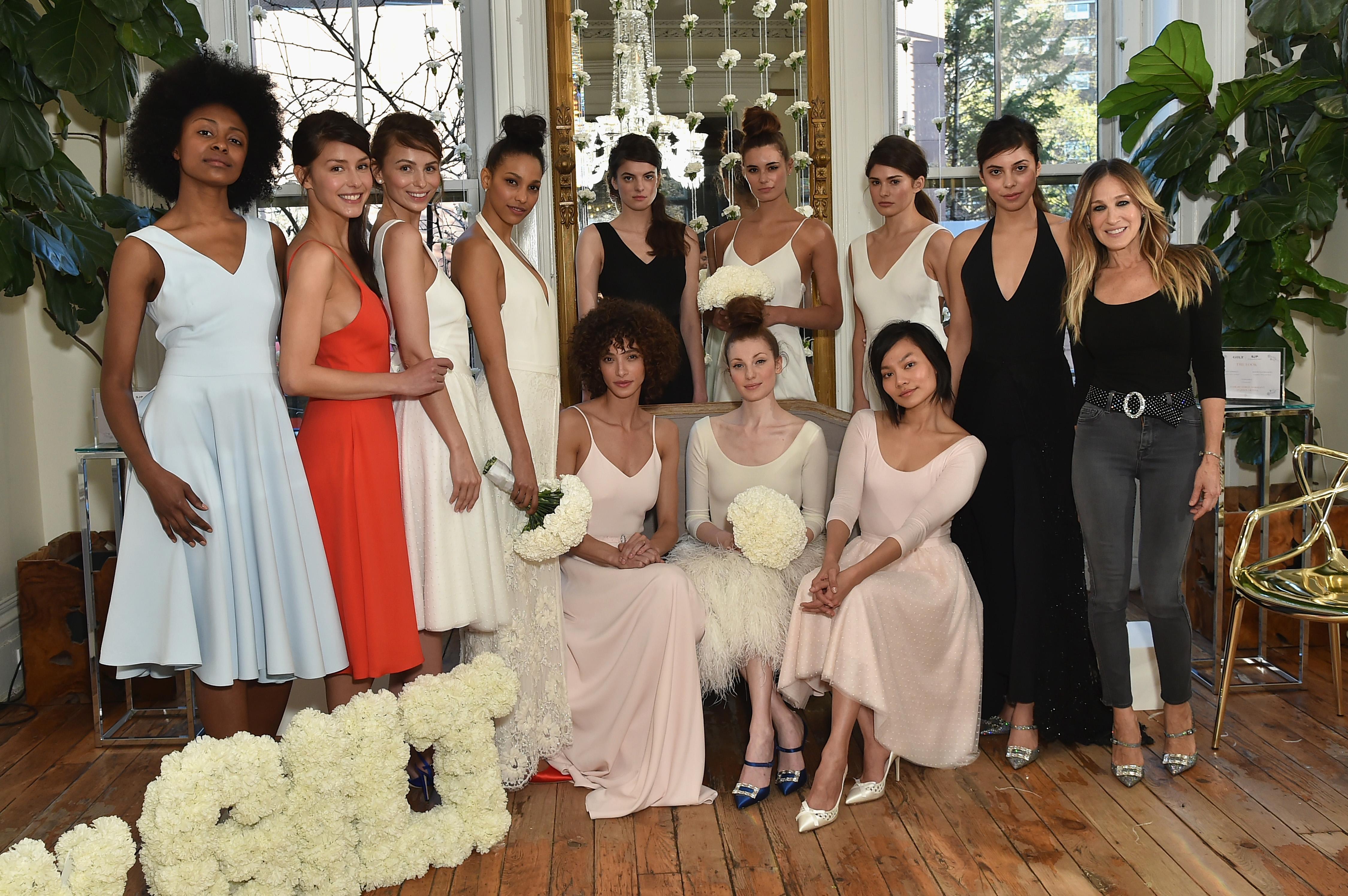 Sarah Jessica Parker coleção noivas e festa