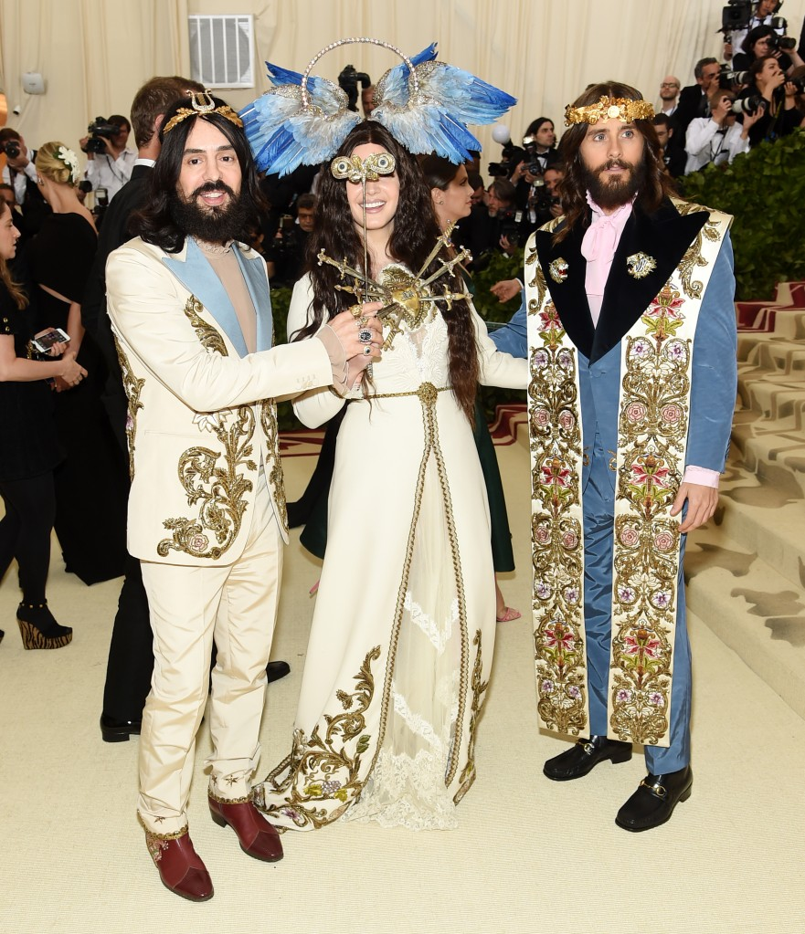 Alessandro Michele, Lana Del Rey e Jared Leto