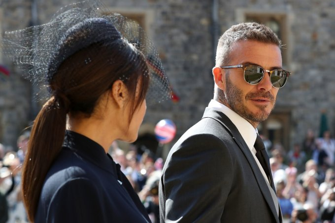 David Beckham Casamento real Príncipe Harry e Meghan Markle