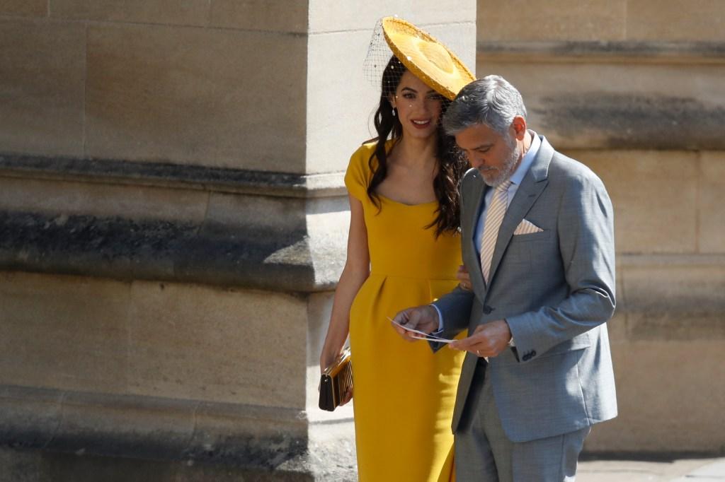 Amal Alamuddin e George Clooney casamento real