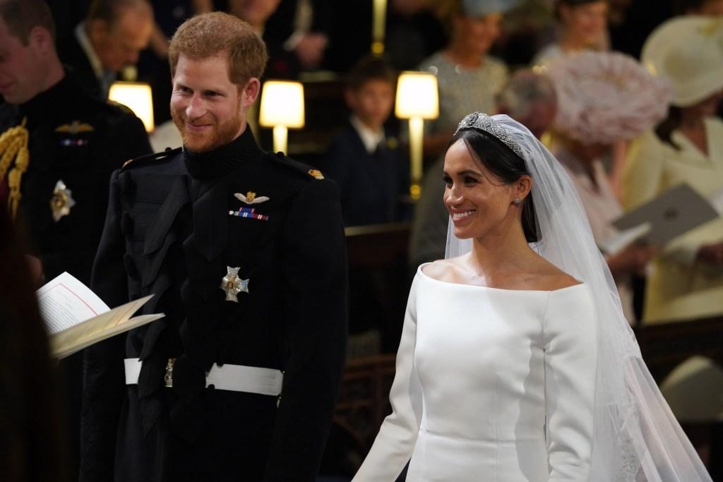 Príncipe Harry e Meghan Markle casamento real