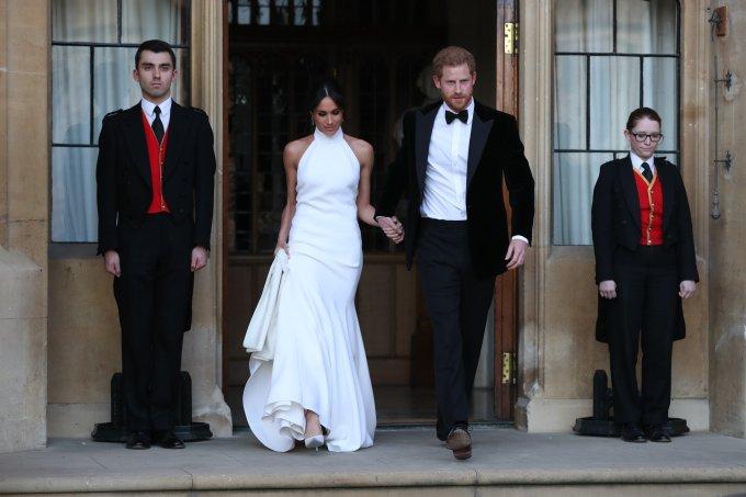 Casamento real segundo vestido meghan markle
