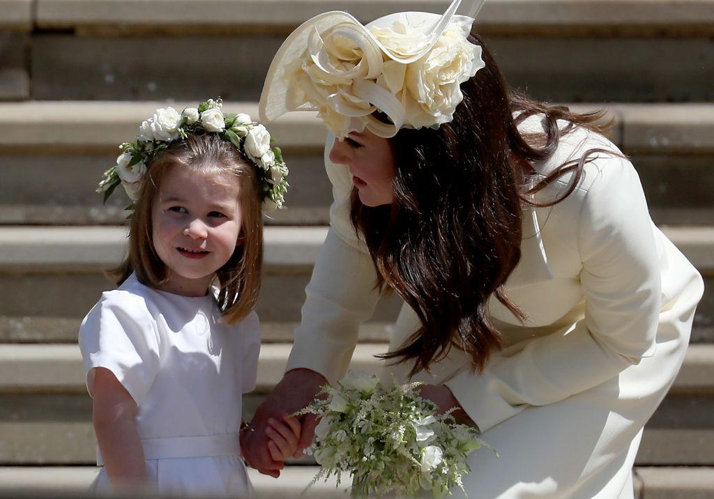 Princesa Charlotte e Kate Middleton