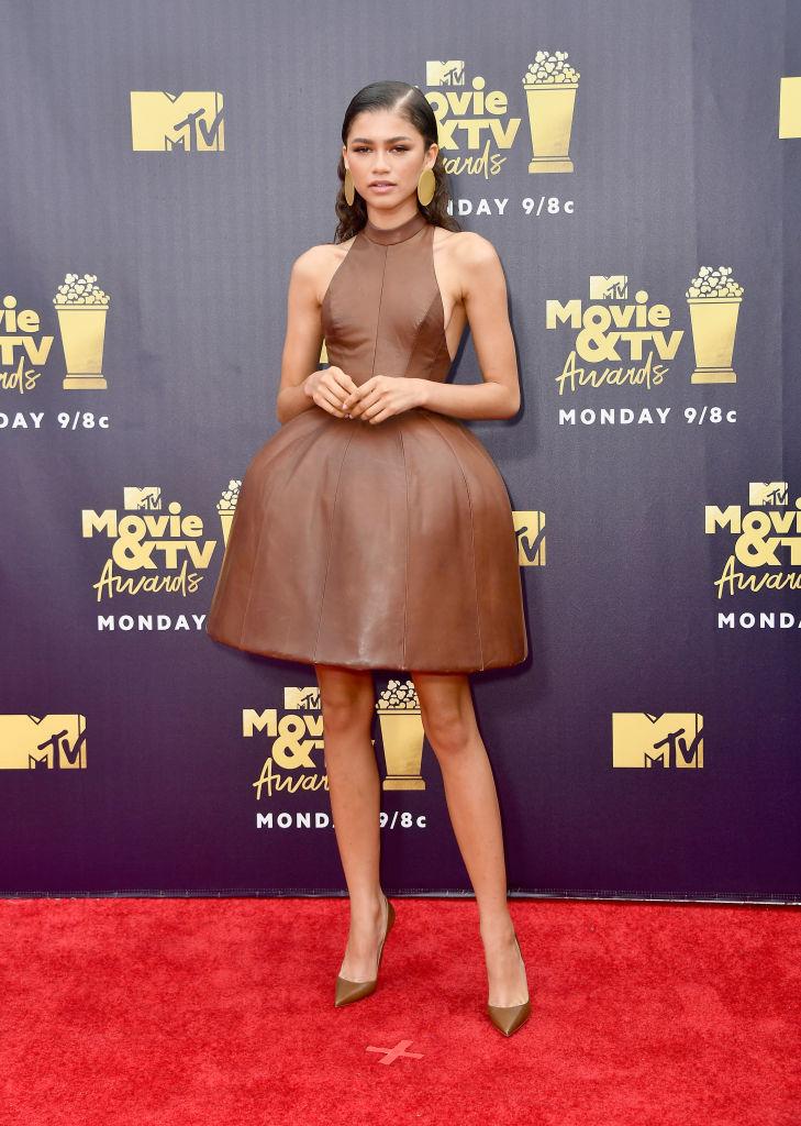 Zendaya no MTV Movie And TV Awards 2018