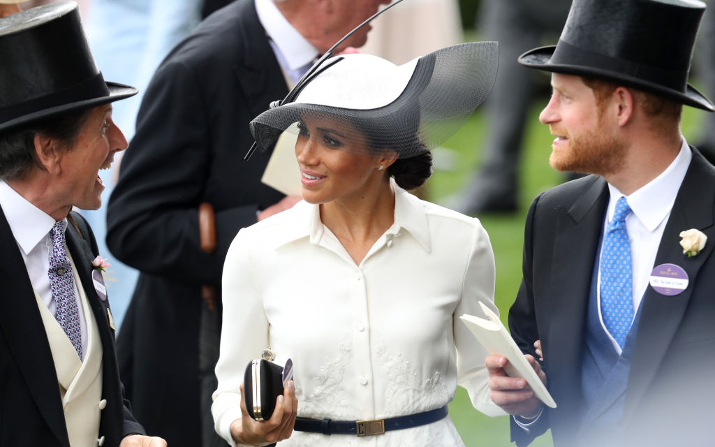 Meghan Markle no Royal Ascot 2018