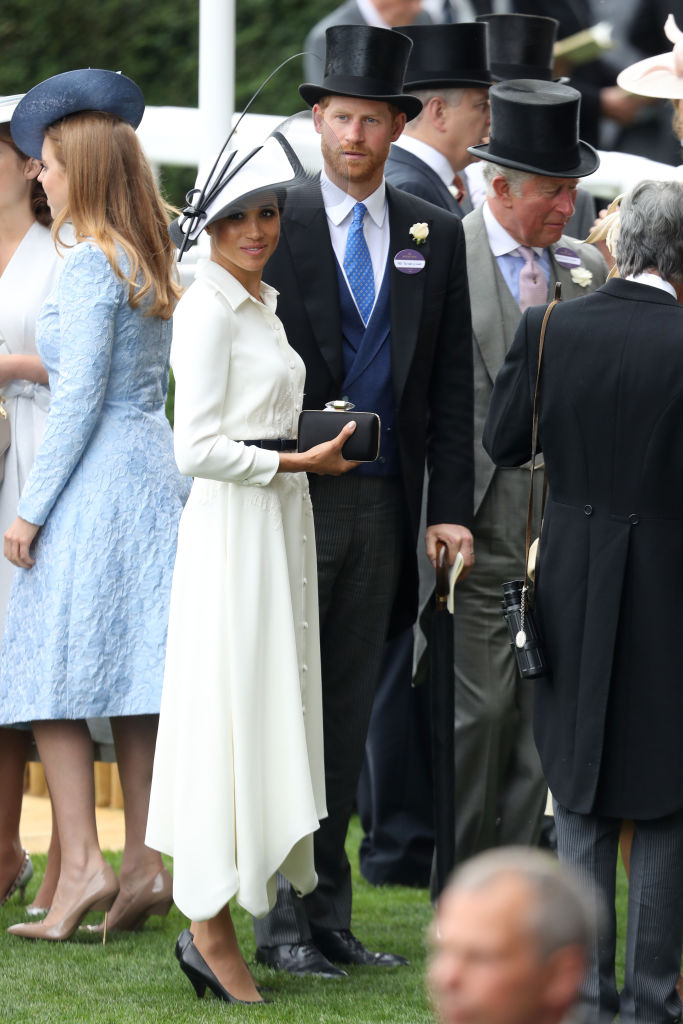 Meghan Markle e Príncipe Harry no Royal Ascot 2018