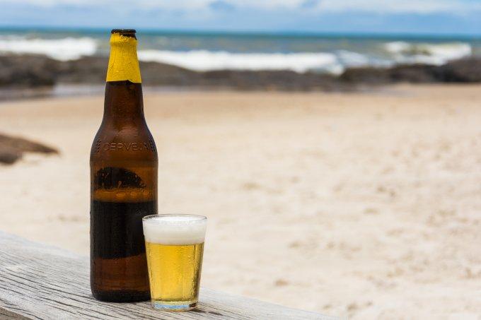 cerveja praia