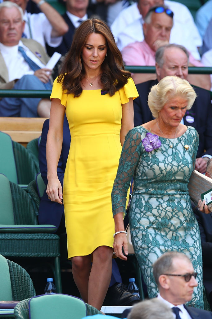 Kate Middleton, Duquesa de Cambridge, em Wimbledon