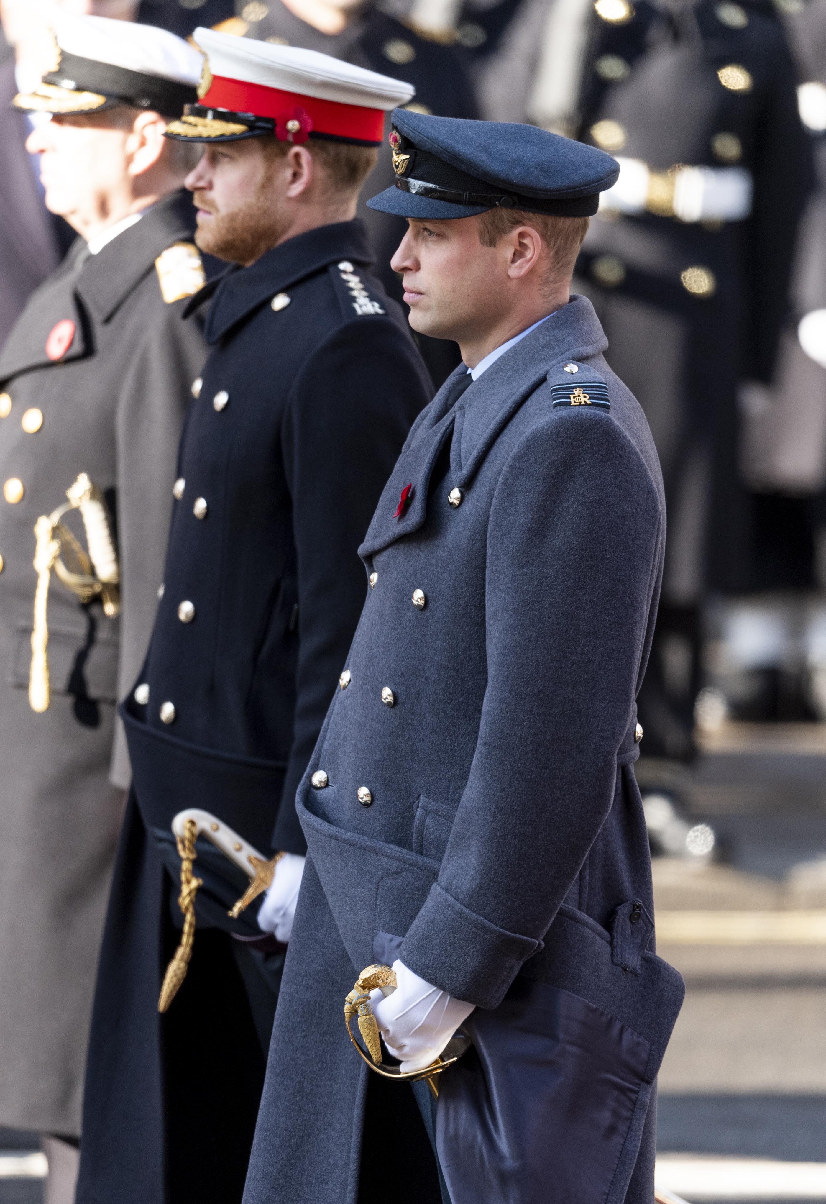 Remembrance Sunday família real