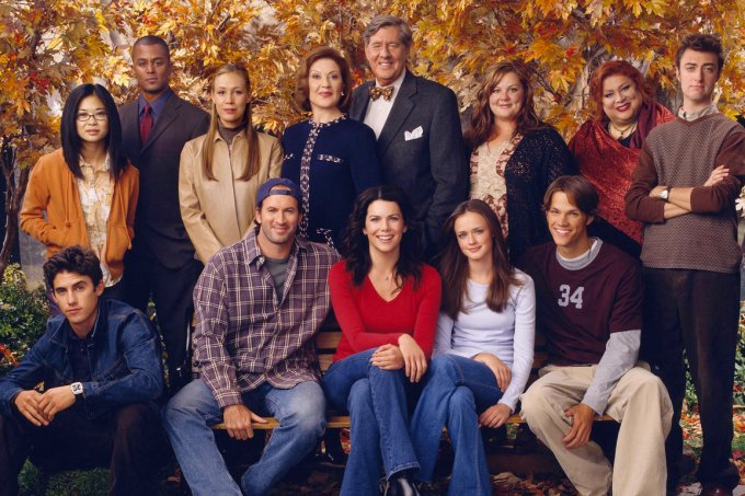 "Elenco de ""Gilmore Girls"""