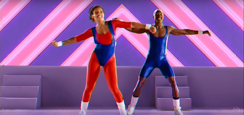 ginastica aerobica abertura verao 90