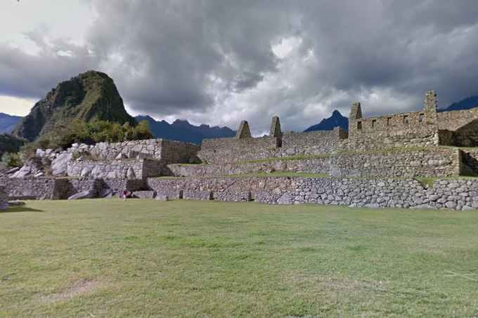 Google Street View Machu Picchu