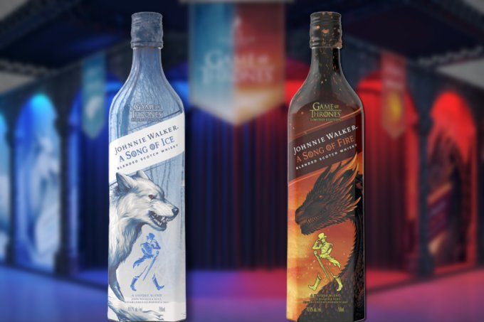 Johnnie Walker lança whisky de Game Of Thrones
