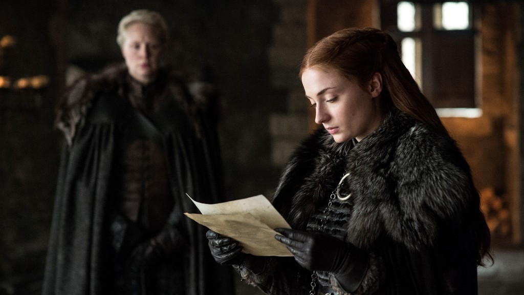 Brienne e Sansa Game of Thrones