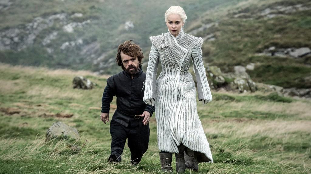 Tyrion e Daenerys Game of Thrones
