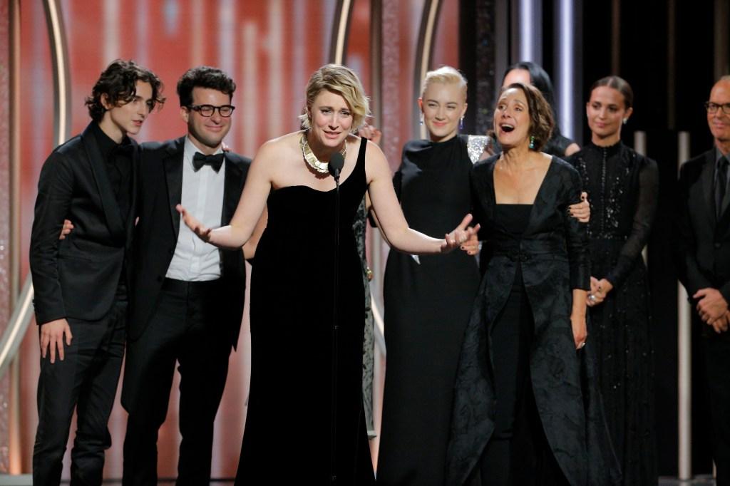 Lady Bird vencedor globo de ouro 2018