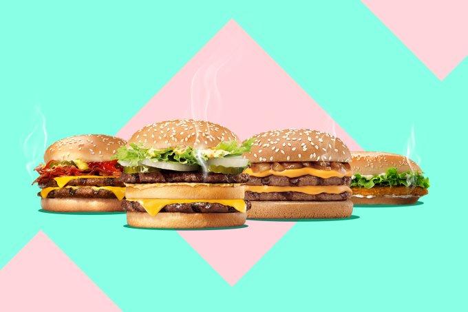 Hamburguer do Burger King
