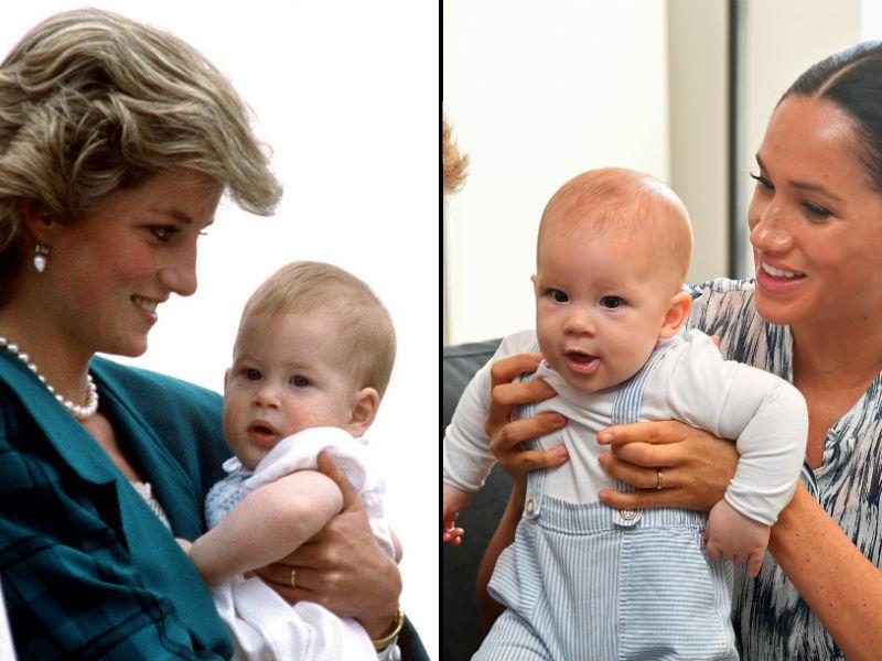 Principe Harry e Archie Lado a Lado